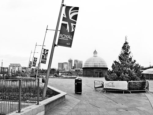 Christmas tree, Greenwich