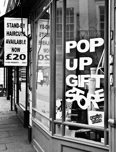 Pop-up shop, Greenwich