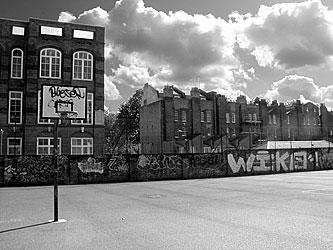basketball court, Lambeth