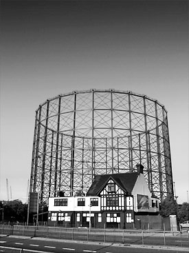 Gasometer, Tunnel Avenue