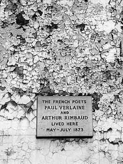Rimbaud plaque