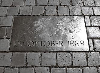 Plaque, Nikolaikirchof, Leipzig