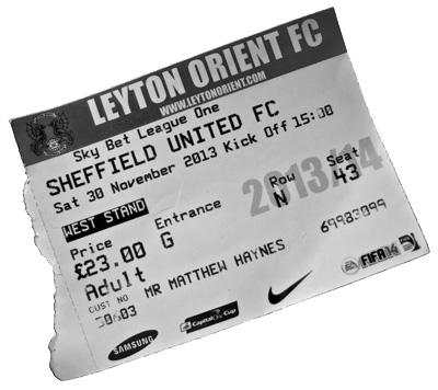 Orient Ticket