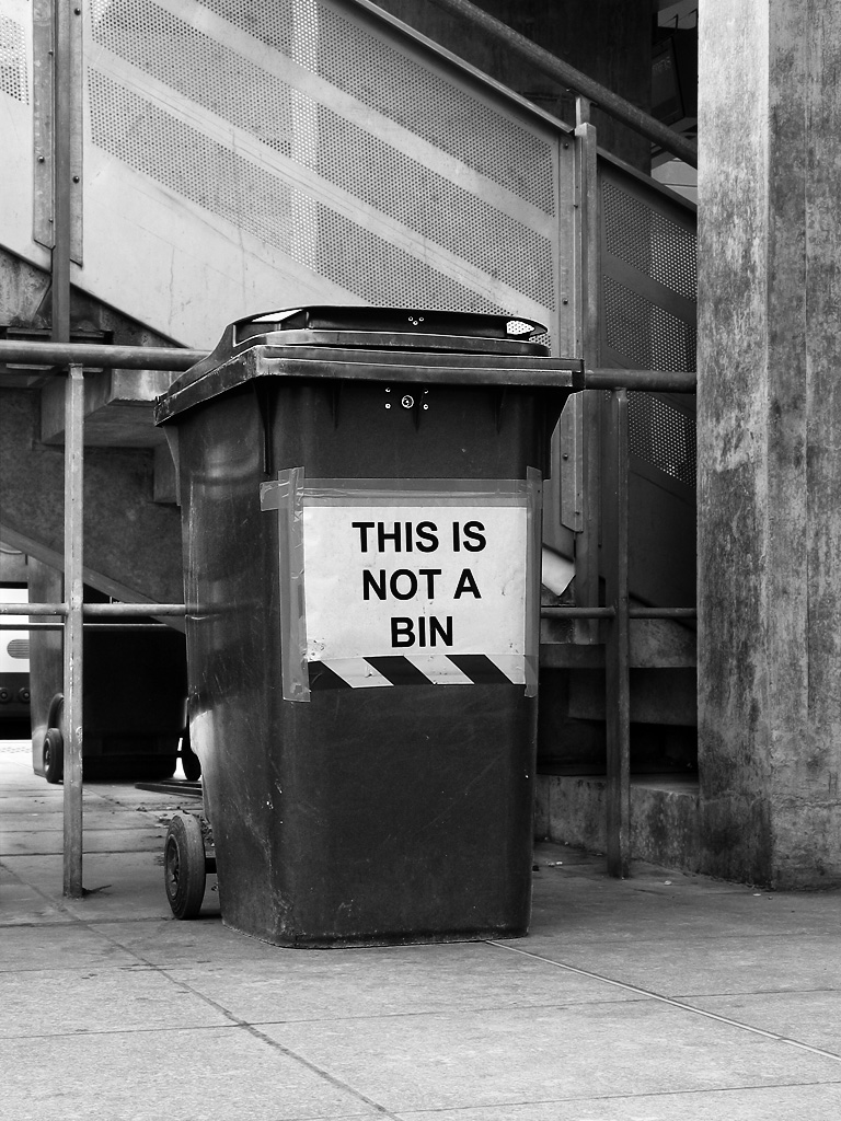 This Is Not A Bin