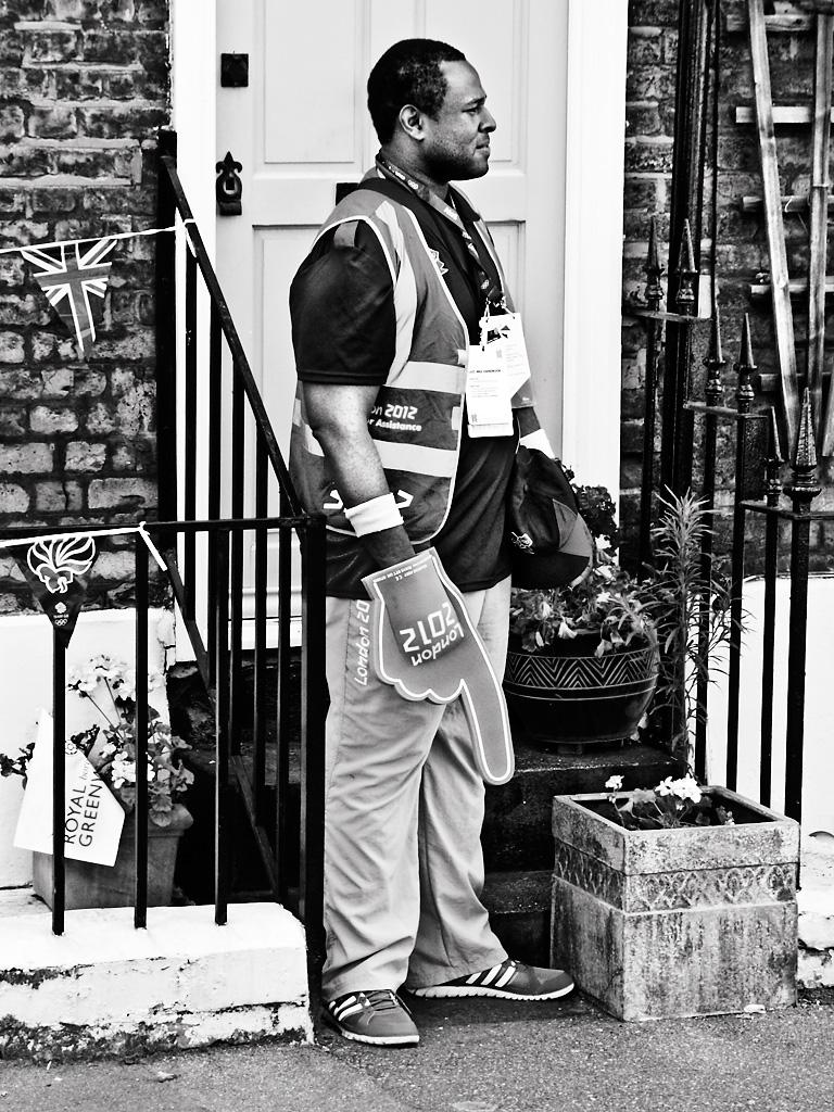 Olympic steward